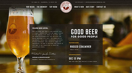Site Launch: Scorched Earth Brewing Co.